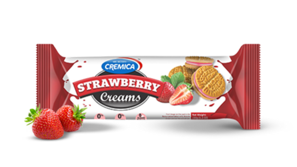 Cremica Strawberry  Biscuits150gm