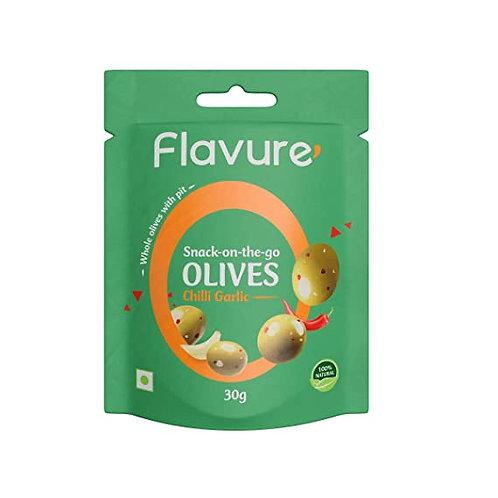 Flavure Chilli Garlic Olives