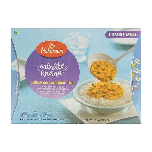 Haldiram Yellow Dal with Plain Rice