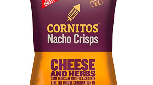 Cornitos Nachos - Cheese and Herbs75gm