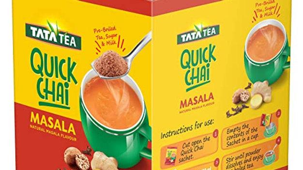Tata Tea Quick Chai, Masala 10 PC
