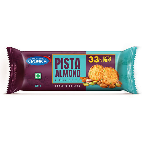 Cremica Pista Almond - Pack of 6