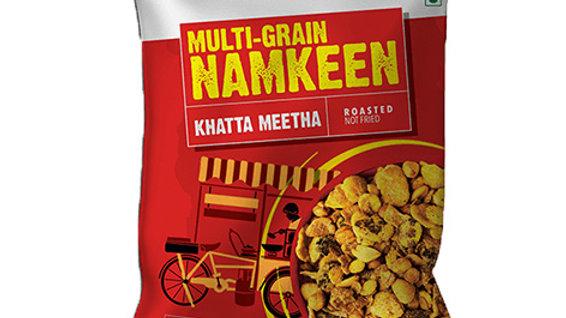 Poshtick Multi-Grain Khatta Meeta40gm