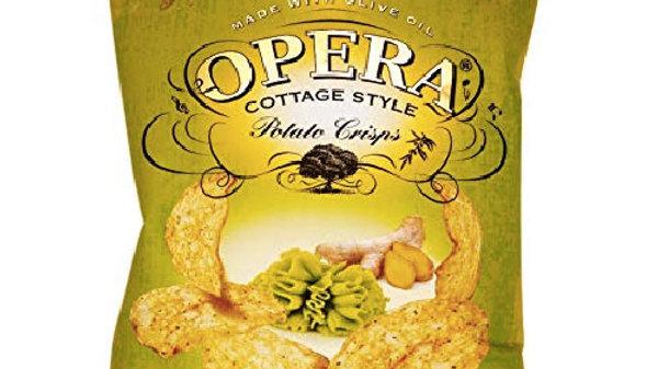 Opera Potato Crisps Zesty Wasabi55gm