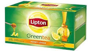 Lipton Honey Lemon Green Tea Bags 100 PC