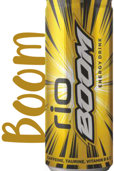 Rio Boom Energy Drink Can