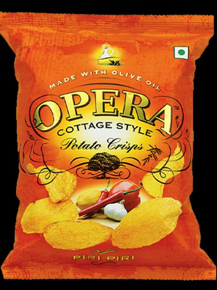 Opera Potato Crisps - Piri Piri Chips (pack of 6)
