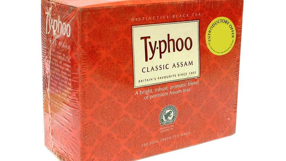 Typhoo Classic Assam Tea 100 PC