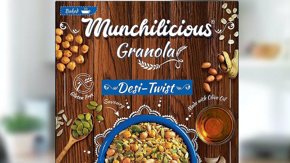 Munchilicious Granola - Desi Twist40gm