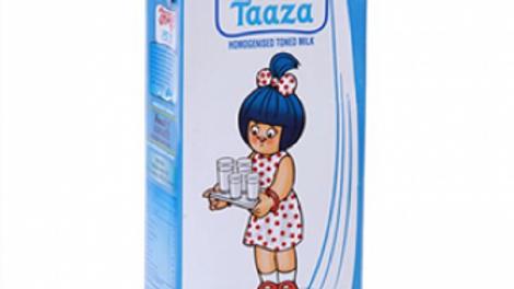Amul taaza toned milk1000ml
