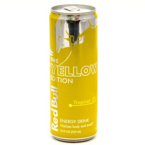 Red Bull Energy Drink -Yellow Edition