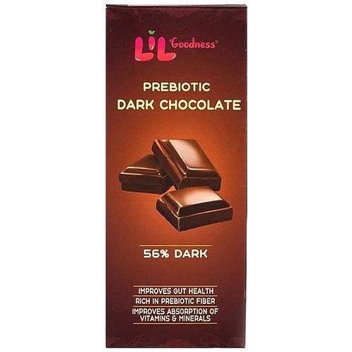 Lil Goodness Prebiotic Dark Chocolate- 56% dark