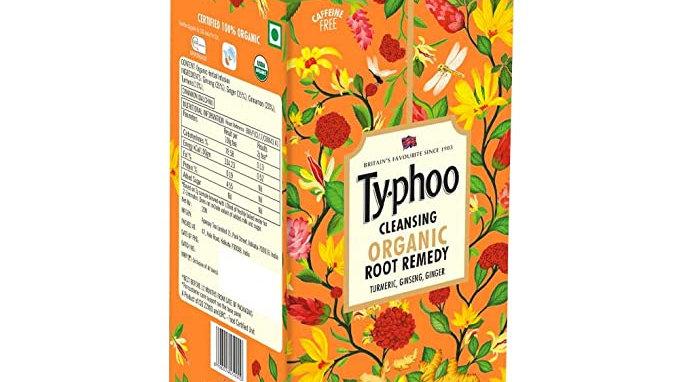 Typhoo Cleansing Organic Root Remedy Tea Bag 20 PC