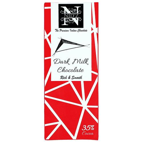 Nidz Dark milk Chocolate-35 % Cocoa