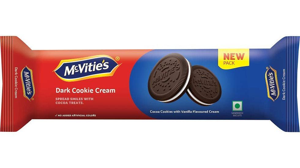Mc Vities Dark Cookie Cream biscuit50gm