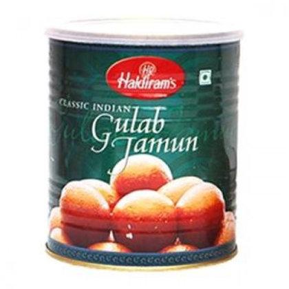 Haldiram Gulab Jamun (1 Kg Tin Pack)
