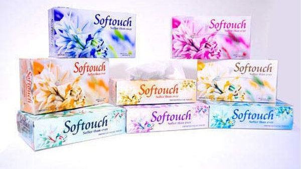Softouch Face Tissue Paper Napkins 200 PC