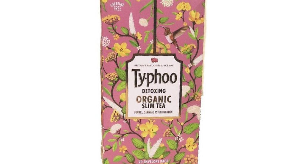 Typhoo Detoxing Organic Slim Tea Bags 20 PC