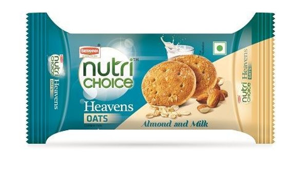 Nutrichoice Biscuit Oats -Almond Milk75gm