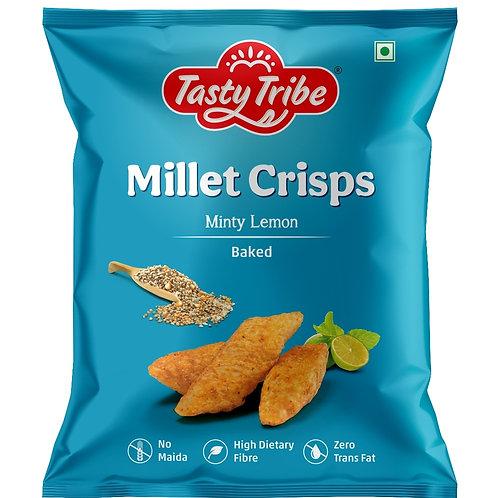 Tasty Tribe Millet Crisps- Minty Lemon