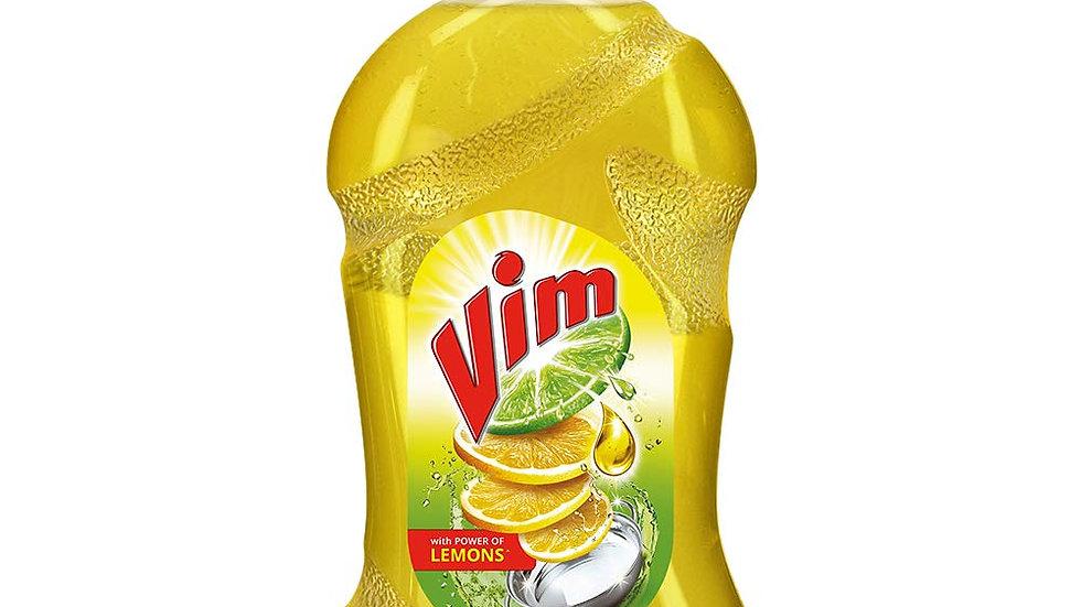 Vim Drop Dishwash Yellow Liquid Gel500ml