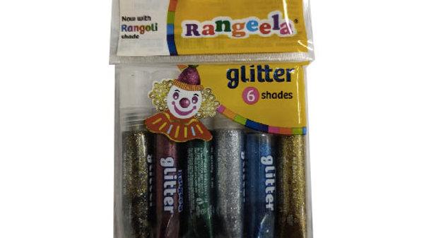 Pidilite Rangeela Glitter 6 Shades 1 PC