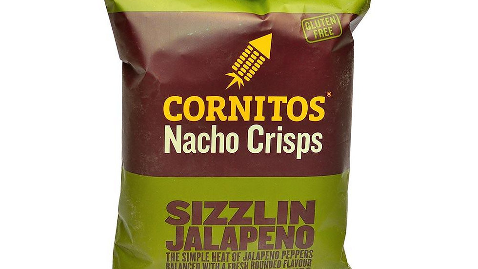 Cornitos Nachos - Sizz Jalapeno75gm