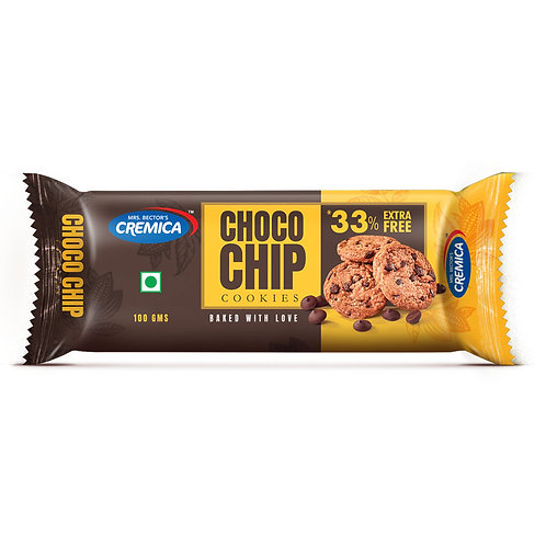 Cremica Chocochip Cookies - pack of 6