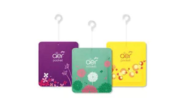 Godrej aer Pocket, Bathroom Air Fragrance 3 PC