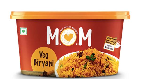 MOM Veg Biryani73gm