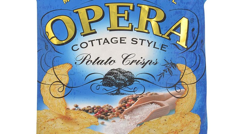 Opera Potato Crisps Salt and Black Pepper55gm