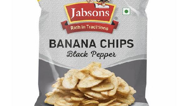 Jabsons Foods Banana Chips Black Pepper150gm