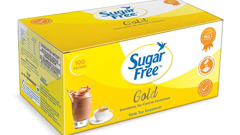 Sugarfree Gold Low Calorie Sweetner - 100 Sachet 100 GM