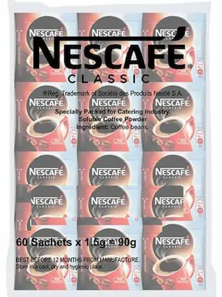 Nescafe Coffee Classic Sachet (50*1.5 gm)