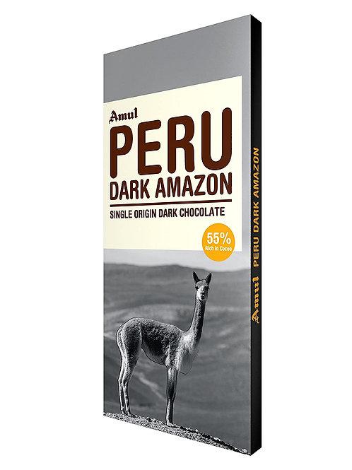Amul Peru Dark Amazon Dark Chocolate-55% rich in cocoa