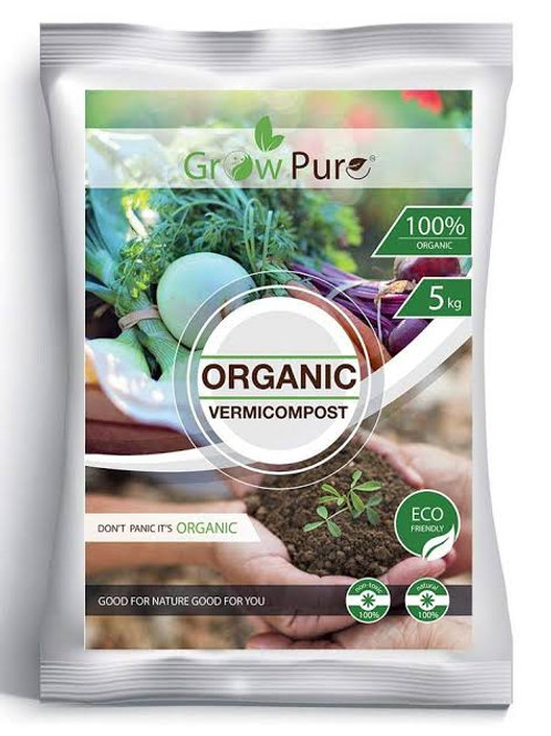 Growpure Organic Vermicompost
