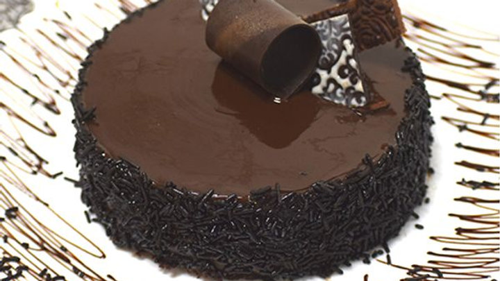 The Bakers Chocolate Truffle Cake +1 day500gm