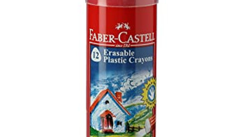 Faber-Castell Erasable Crayon Tin Set - Pack of 12 1 PC