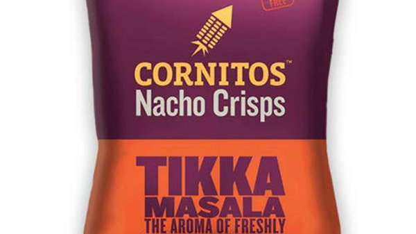 Cornitos Nachos - Tikka Masala60gm