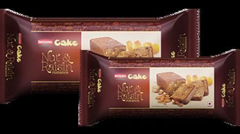Britannia Nut and Raisin Romance Cake60gm