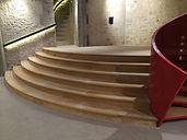 Escalier Donjon Houdan - Parquets GAL