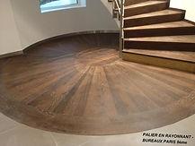 Escalier  - Parquets GAL (parqueteur en Ile de France)