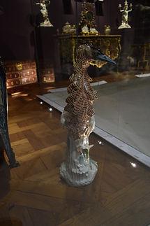 Détail parquet salle des objets d'arts du XVIII ème - Musée du Louvre