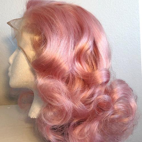Pink Champagne Wig (Pre-Sale)