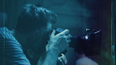 Ben Hartenstein Director shooting Paris Hilton Campaign
