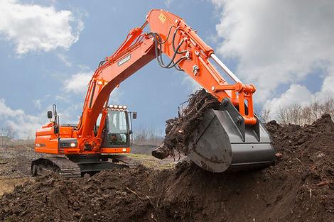 22.5 Tonne Tracked Excavator
