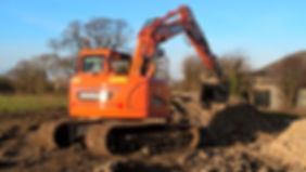 14 Tonne Digger - Doosan DX140LCR-3 Reduced Tail Swing Excavator