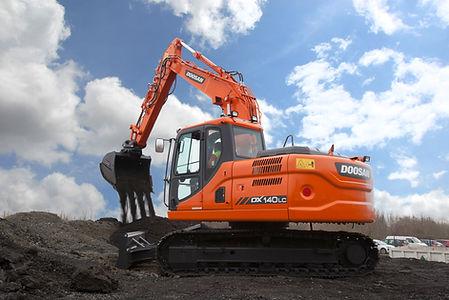 14 Tonne Digger - Doosan DX140LCR