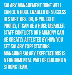 Salary Management for Startups - Glen Wakeman