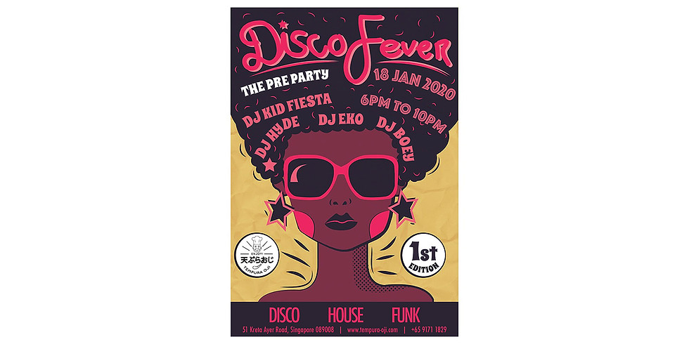 Disco. House. Funk Night